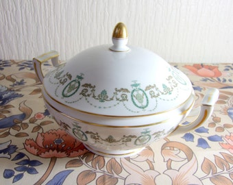 Stunning Minton Adam Fine Bone China Vegetable Serving Dish with Lid WORLD WIDE SHIPPING