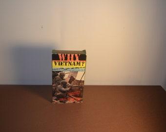 Vintage Why Vietnam? VHS tape