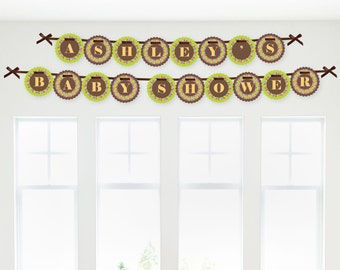 Luau Garland Banner - Custom Party Decorations