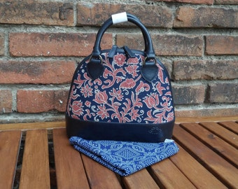 Dilians HANDPRINTED leather handbag JITKA2 F020601