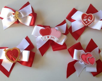 Valentine Heart Bow