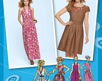 Simplicity Sewing Pattern 1610 Misses' Dress Project Runway Collection