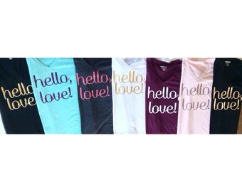 Hello Love shirt