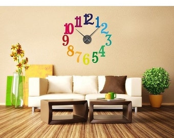 Colorful Numbers wall decal