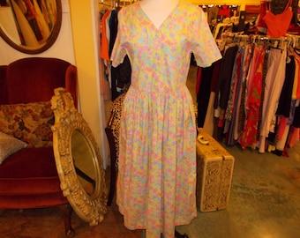 Summer flower dress