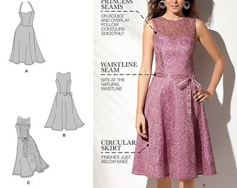 Simplicity Pattern 1606 Misses and Petite Dress