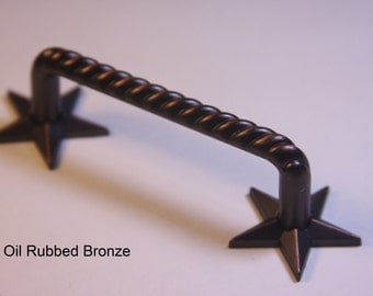 Western Style Star Foot Pull - Available in 4 Finishes