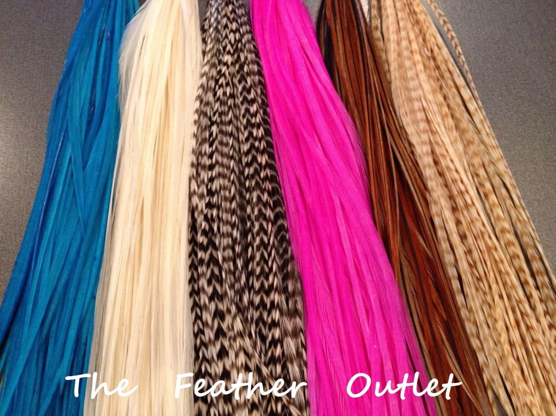 plumes de cheveux extensions de cheveux plume 10 real. Black Bedroom Furniture Sets. Home Design Ideas