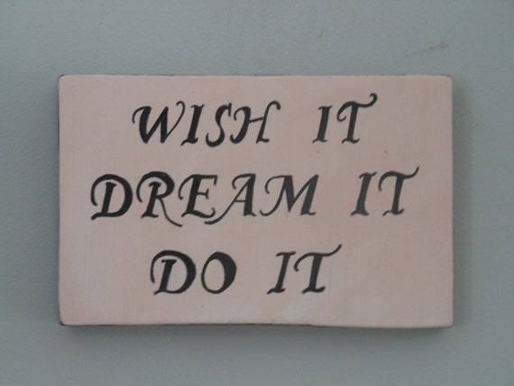 Items similar to Inspirational or funny plaques any size