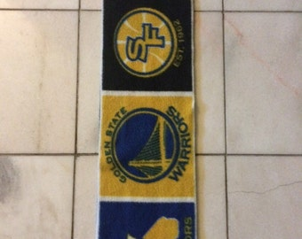20% Off - USE CODE: NEW16 -Golden State Warriors Single Layer Fleece Scarf