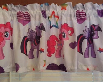 "My Little Pony Curtain Valance ~ Matches Bedding ~ 64"" Wide ~"