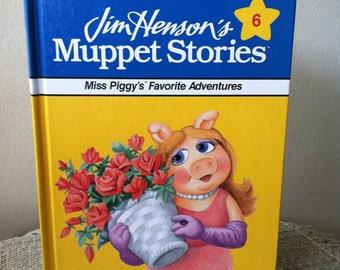 Vintage Jim Henson's Muppet Stories Miss Piggy's Favorite Adventures