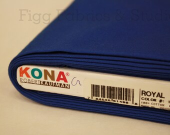 KONA Cotton in Royal (Color 1314)
