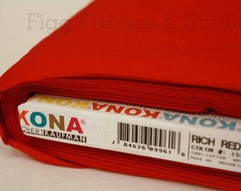 KONA Cotton in Rich Red (Color 1551)