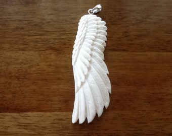 Angel Wing Spirit Carving