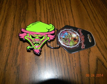 """New- OFFICIALLY LICENSED ICP """"Riddle Box """" Metal Belt Buckle"""