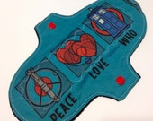 9 inch regular absorbency cloth menstrual pad-Peace Love Who