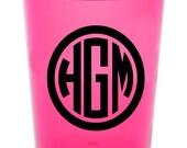 Personalized Stadium Cups ~ Monogram ~ Name   ~