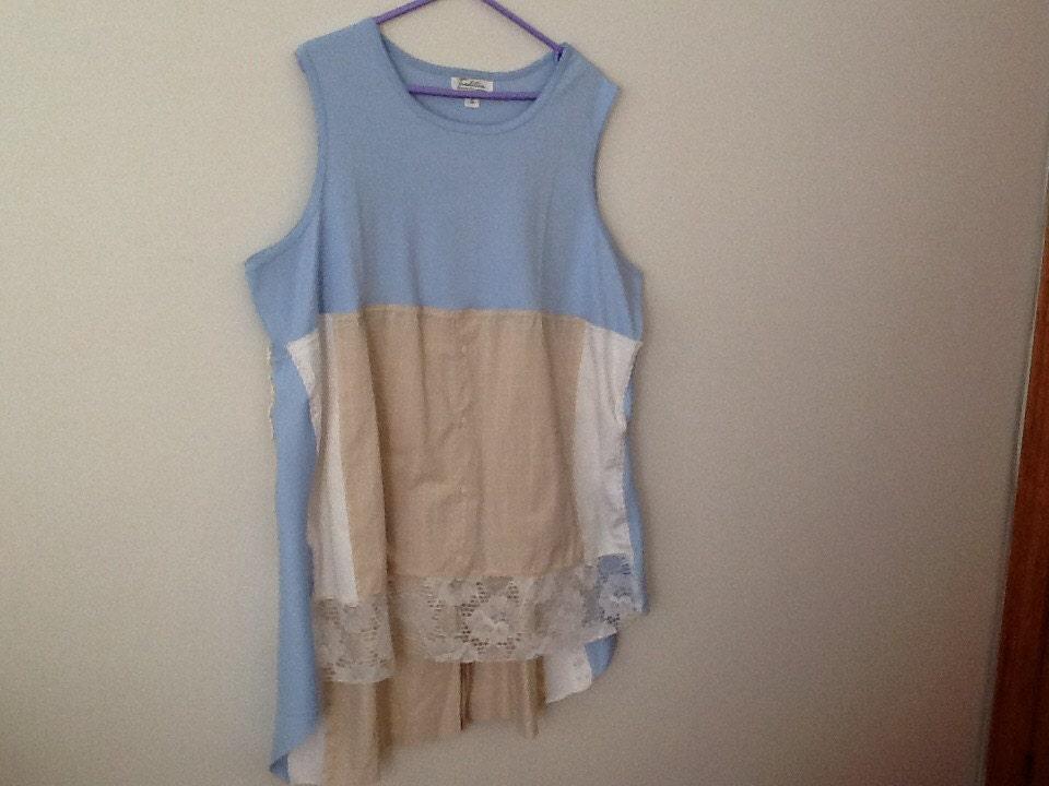 Upcycled Clothing Refashioned Shabby Style Rustic Boho Country