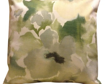 Sanderson Varese Green Cushion Cover