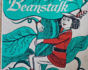 """1964 Golden Press """"Jack and the Beanstalk"""" Illustrated by Art Seiden"""