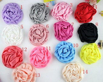 Rose Buds Fabric Flowers,Handmade Flowers Accessories