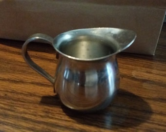 Stainless steel mini pitcher
