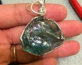 Higher Heart Celestial Green Blue Andara Crystal