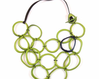Nohowi Bib Tagua Necklace Eco Friendly Necklace
