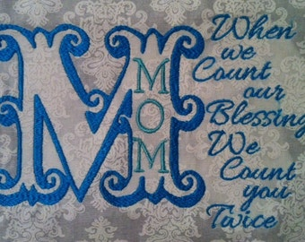 Mom Blessing 5x7