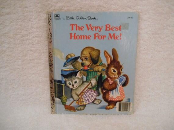Pequeño libro de oro El muy mejor hogar para mí
