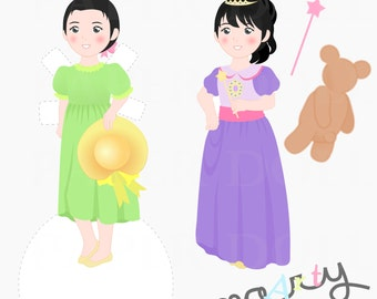 Little Girl Paper Doll