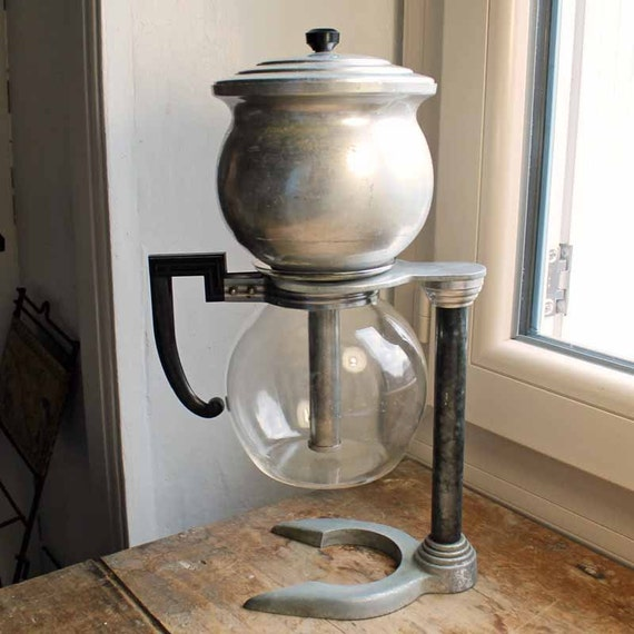 Old Coffee Makers ~ Vintage s french cafetiere pyrex vacuum coffee maker