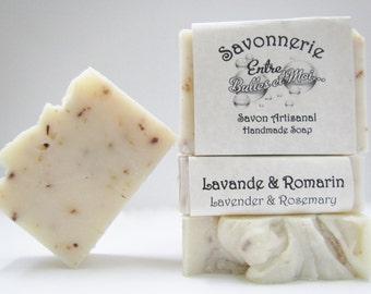 Lavender & Rosemary Handmade soap