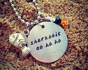 Finding Nemo 'Sharkbait' Inspired Handmade Necklace
