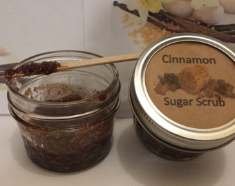 Cinnamon Sugar Scurb, Sugar Scrub, Cinnamon, Bath & Beauty, Skin Care, Exfoliation and Peels, Girl Stuff, Bath Scrub