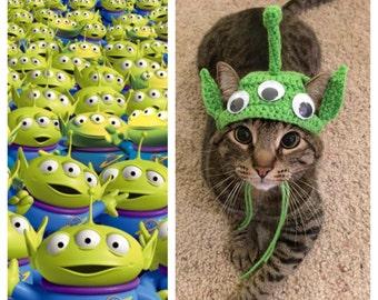Toy Story Alien Cat Costume