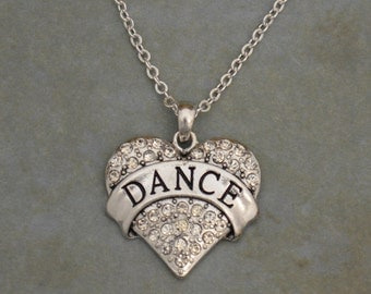 Dance Heart Necklace