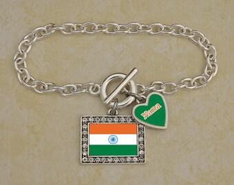 Custom Family India Bracelet - FLAGIN54591