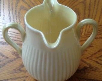 Vintage Belleck Porcelain Creamer - Made in Ireland - 1965 to 1981