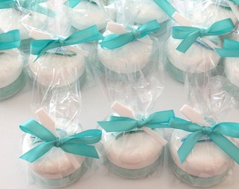 20 Sugar Scrub 2oz Gender Reveal Party Favors With Embelishments