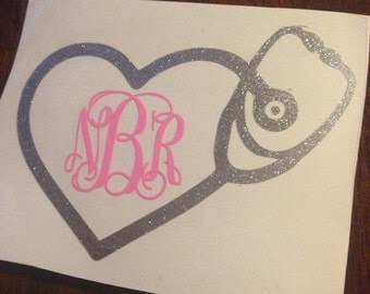"3.5"" Nurse Love Decal"