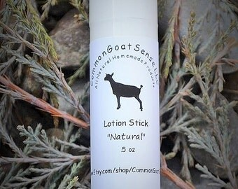 Natural Lotion Stick