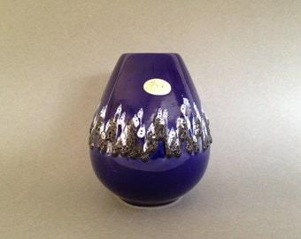 Fohr Keramik   339 - 15 vintage vase 1970s Mid Century Modern  West Germany. WGP vase.