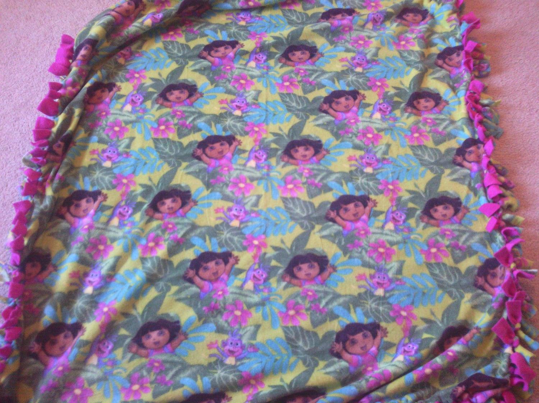 no sew tie fleece blanket by angelassoftblankets on etsy