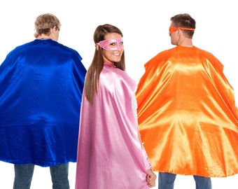 Adult Superhero Cape - 14 Colors