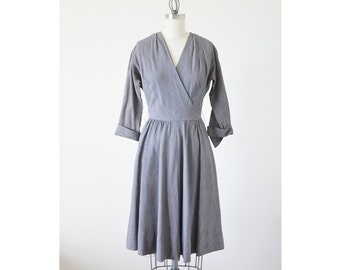 SALE ~ 1940s vintage day dress / R and K Original dress / 40s dress
