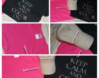 Keep calm Beautican shirt and hat