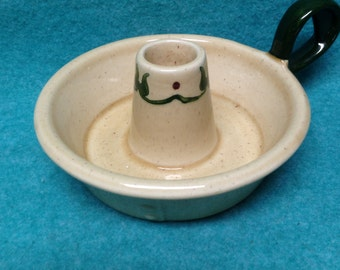 Metlox Pottery Homestead Provincial Candlestick Single Handled