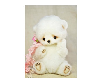 PDF Pattern Teddy Bear 5 inches - Soft Toy Pattern - Instant Download